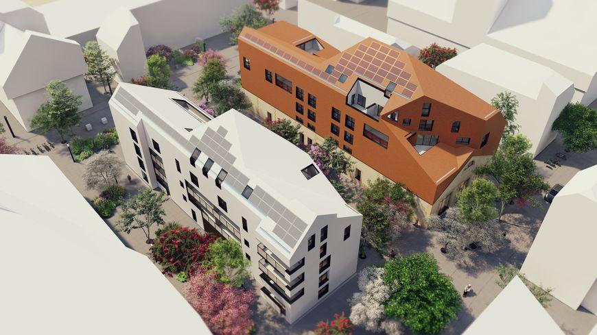 Construction de 28 logements collectifs et deux locaux d'activités